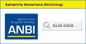 Naar de ANBI Site voor meer informatie over onze ANBI Stichting Sailability
