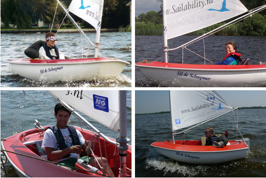 Sailability Zeilboot Hansa 203