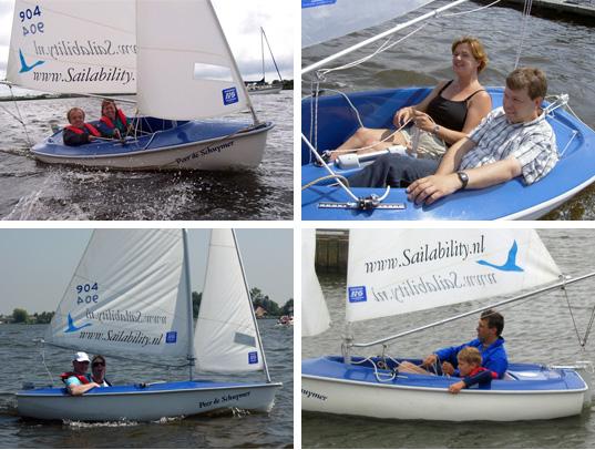 Sailability Zeilboot Hansa 303